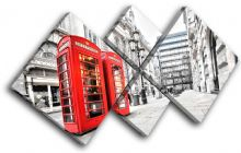 London Phonebox Red City - 13-0311(00B)-MP19-LO